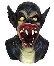 Scary Nightmare Demon Devil Vampire Bat Ear Full Mask Latex Halloween Harror
