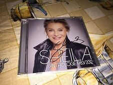 CD Collector dedicace Rare Sheila Anthologie