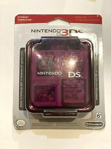 Nintendo 3DS Compact Game Case - Purple - Stores 16 Game