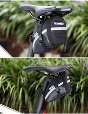 Bicycle Saddle Bag Seat Post Storage Tail Pouch Cycling Road Bike Rear Pannier