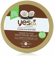 Yes To Coconut Head to Toe Restoring Body Balm, 3 Ounce