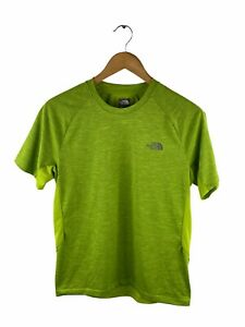 The North Face Short Sleeve T Shirt Mens Size S Green Running Hiking Crew Neck
