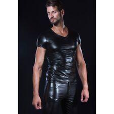 Patrice Catanzaro, Matis, Tee shirt sexy homme wetlook laqué aspect cuir
