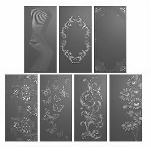 Stamps By Me - Signature Embossing Folder Collection incl 7 x DL Folders