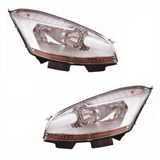 For Citroen C4 Grand Picasso 2007-2010 Headlights Headlamps 1 Pair O/S & N/S