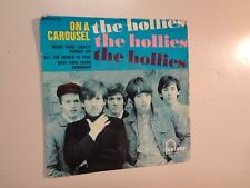 "HOLLIES: On A Carousel + 3-France 7"" Vinyl 1967 Fontana (M) 460.201 ME EP PCV"