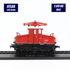 1/87 Atlas Lok Sammlungen Straßenbahnen E 69 03 (1912) Straßenbahn Modell Neu