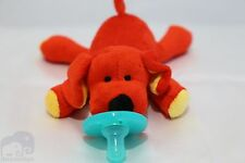 New Soft Cozy Clifford Plush Toy Pacifier /Good Night Sleep/ Shower Gift -Next d