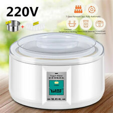 AU STOCK 1.5L Yoghurt Maker Rice Wine Automatic Machine With 7 Glass Jars Gift