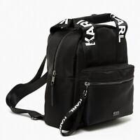 Exclusive Karl Lagerfeld x Falabella Backpack Black Handbag Limited Edition