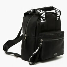 Exclusive Karl Lagerfeld x Falabella Backpack Black Handbag Limited Edition