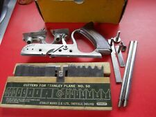 New ListingStanley No.50 Combination Plane with 17 Cutters.