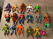 Vintage Mattel MOTU HE-MAN Lot Of 17 Figures