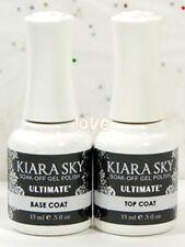 Kiara Sky Gel Color Soak Off UV/LED 15ml/0.5oz Base Coat & Top Coat Gel