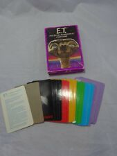 Vtg 80s E.T. The Extra Terrestrial Card Game PARKER BROTHERS in Box Complete