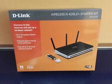 D-LINK DKT-810 Wirless N ADSL2+ Starter KIT IEEE 802.11 n/g/b WLAN 2.4Ghz