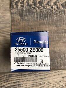 Genuine Hyundai Kia Engine Coolant Thermostat 255002E000 OEM