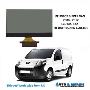 PEUGEOT BIPPER VAN LCD DISPLAY AND RIBBON FOR INSTRUMENT CLUSTER  . .NEW..