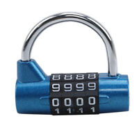 Weatherproof Security Padlock Outdoor Heavy Duty 4-Digit Combination Lock AU