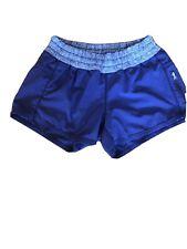 "Lululemon Tracker Shorts Dark Purple Size 4, 4"" Inseam"