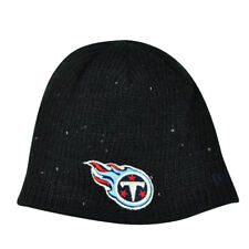 NFL New Era The Glistener Tennessee Titans Sequins Cuffless Womens Knit Beanie