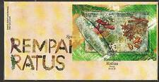 MALAYSIA 2011 Spices Rempah Ratus MS FDC