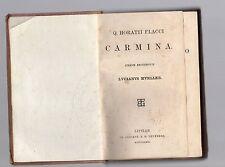 q.horatii flacci - carmina - iterum recognovit lucianus mueller - 1879