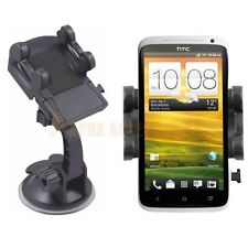 For New HTC ONE X ,ONE S One V In Car 360° Windscreen Mount Holder Cradle Kit UK