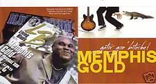 BLUES CD: MEMPHIS GOLD: GATOR GON' BITECHU! with Jay Summerour, Bluesman Turner
