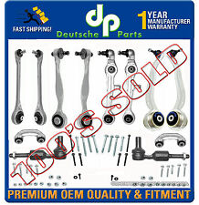 Audi A8 & QUATTRO Front Control Arm Arms Ball Joint Tie Rod Sway Bar Kit 13 Pc