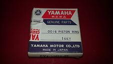 NOS Yamaha OEM Piston Ring 2nd 1982-1988 YZ125 YZ 125 5X4-11611-21-00