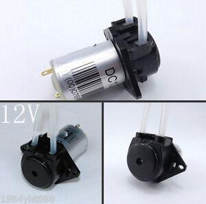 12V DC DIY Dosing pump Peristaltic dosing Head For Aquarium Lab Analytical water