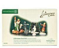 Department 56 A Christmas Carol Visit Dickens'  Village Accessory #58542 NOB