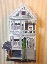 "Shelia's Coll. - 720 Steiner St, ""Postcard Row, San Francisco, Ca./Signed Ap"