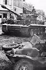 WW2 - Villers Bocage Eté 44 - Char Tigre E 1ère Cie - Panzer Abteilung 101