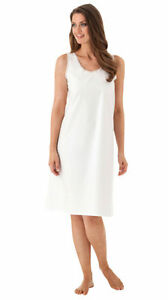 Dixie Belle Cotton/Poly Full Slips With Lace Edging (76024)