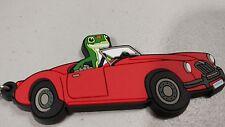 GEICO GECKO KEY CHAIN IN RED CAR.