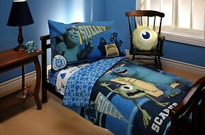 Monsters Inc. U Scarer Training 4 pc. Toddler Bedding Set by Disney Pixar