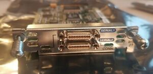 Cisco WIC-2T 2 Port Serial WAN Interface Card