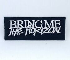 Bring Me the Horizon BMTH rock band Iron on Sew on Embroidered Patch #1392