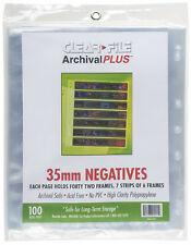 Clearfile Archival Plus Negativhüllen Kleinbild (35mm), extrabreit (100 Stück)