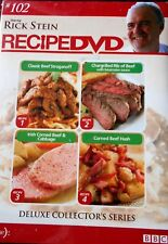 RICK STEIN RECIPE DVD # 102 - NEW & SEALED - BBC TV  R4 Australia, Cooking