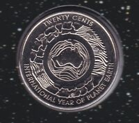 2008 Australia Planet Earth 20 Twenty Cent UNC Uncirculated Coin ex UNC Set