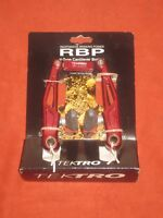 NEW Tektro RBP V Type Brake Caliper Red Blocks Retro RBP 875AG NOS