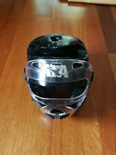 ATA Macho Protective Padded Head Gear Helmet With Clear Face Mask - Youth