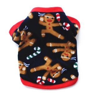 Warm Pet Cat Puppy Dog Clothes Dog Shirt Printed Coat Jacket Pullover Clothing##