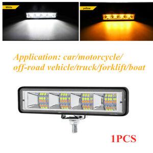 12V-60V 72W 24LED Offroad Boat SUV Work Light Flood Spot Beam Driving Fog Lamp