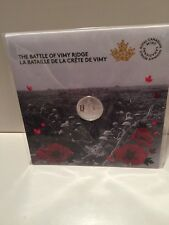 100th Anniversary of the Battle of Vimy Ridge Pure Silver Coin (2017) Royal CDN