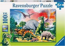 Puzzle Ravensburger 100 XXL - unter Dinosauriern