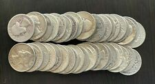 ROLL OF SILVER WASHINGTON QUARTERS -- 40 COINS -- $10 FACE VALUE -- LOT #8